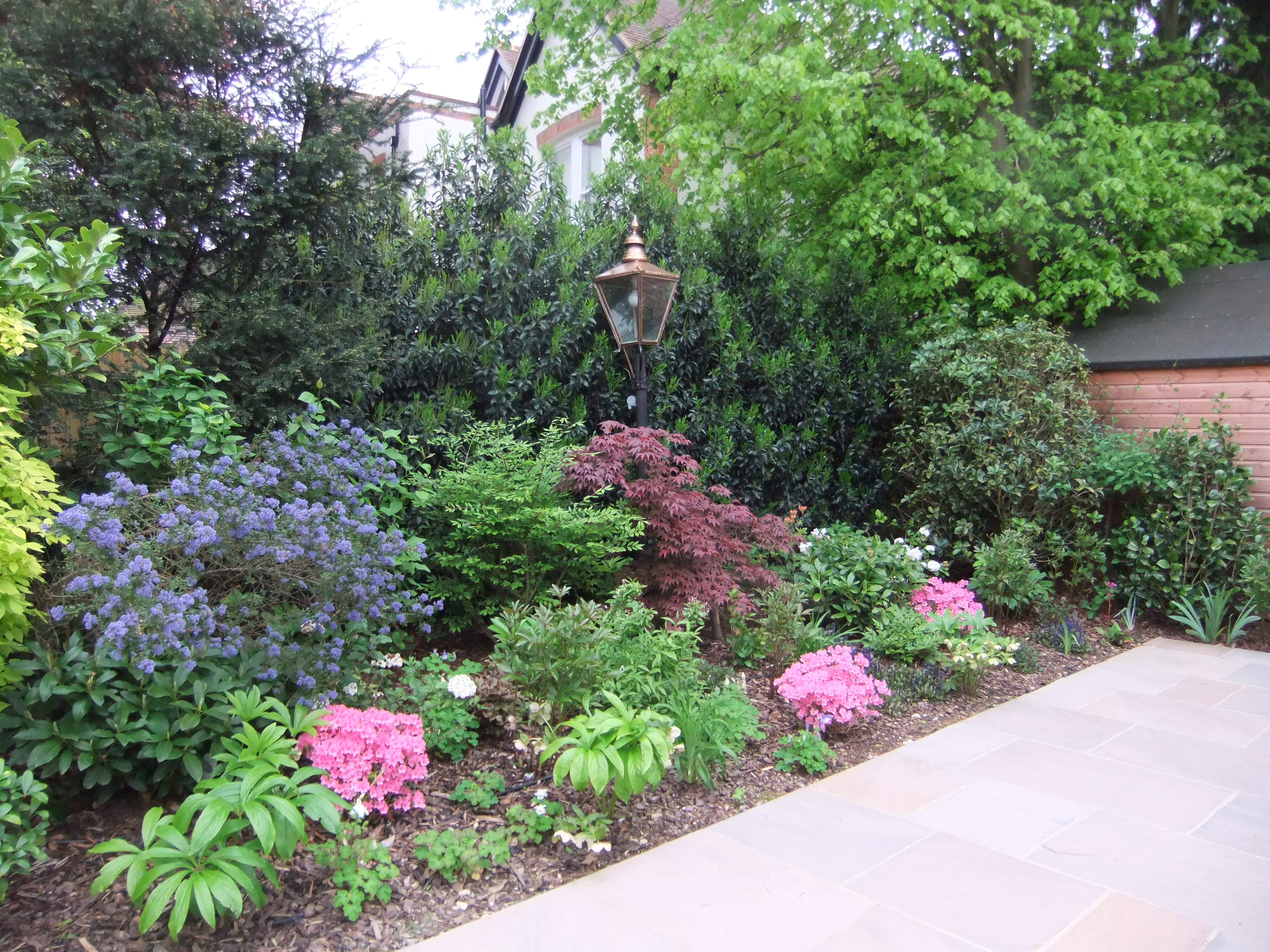 Low maintenance garden design in gerrards cross Low maintenance garden border ideas